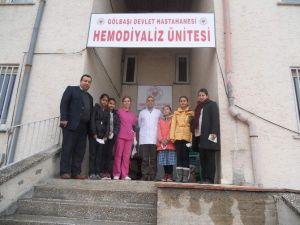 Öğrencilerden Hemodiyaliz Hastalarına Ziyaret