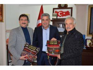 CHP Ortaca İlçe Başkanı'ndan Başkan Şaşmaz'a Ziyaret