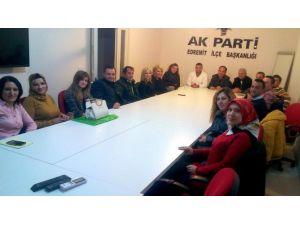 Edremit AK Parti Skm İlk Toplantısını Yaptı