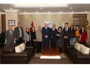 CHP Tepebaşı Teşkilatından Başkan Kurt'a Ziyaret