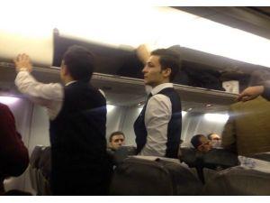 Diyarbakır Uçağında Tabanca Alarmı