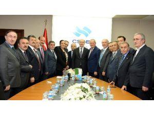 Başkanlardan Bakan Soylu Ve Bakan Yardımcısı Yeğin'e Ziyaret