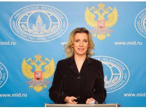 Rus Dışişleri Sözcüsü: Türkiye kirli oyunlar oynuyor