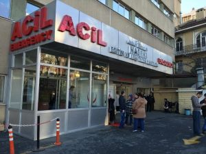 Alman turistin tedavisi Haseki'de sürüyor