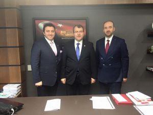 Başkan Bakıcı'nın Ankara Ziyaretleri