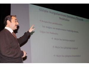 'Proje Nasıl Hazırlanır' Konulu Bilgilendirme Toplantısı Yapıldı