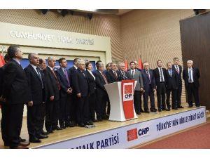CHP İl Başkanları Toplantısında Kurultay İçin 'Çarşaf Liste' Önerildi