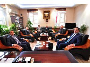 Kargı Kaymakamı Erdoğan Ve Savcılardan Tosya Ziyareti