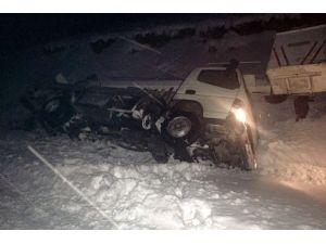 Göreve Giden Elektrikçiler Kaza Yaptı: 2 Yaralı