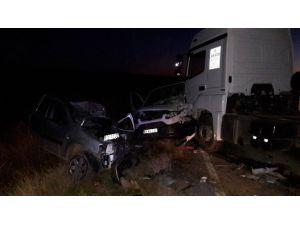 Av Dönüşü Feci Kaza: 1 Ölü, 1 Yaralı