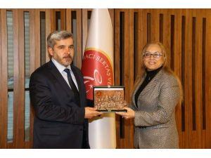 ASÜ Rektörü Prof. Dr. Yusuf Şahin'den Nehü'ye Ziyaret