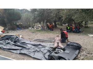 Ayvacık'ta 837 Göçmen Yakalandı