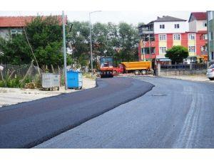 İzmit'teki Yollar İçin 75 Bin Ton Asfalt Kullanıldı