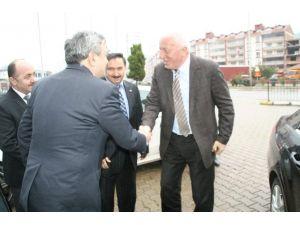 TOBB Yönetim Kurulu Başkan Yardımcısı Mete'den Devrek TSO'ya Ziyaret