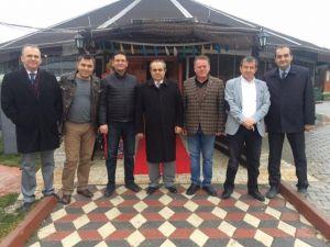 Eski Rektör Özcan'dan Veda Ziyareti