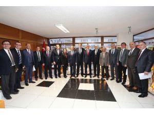 Başkan Kösemusul'dan Türk-iş Genel Başkanı Ergun Atalay'a Ziyaret