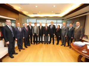 Satso'dan Anayasa Mahkemesi Başkan Vekili Yıldırım'a Ziyaret
