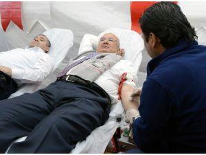 Başkan Kocamaz'dan Kızılay'ın 'Kan Bağışı Kampanyası'na Destek