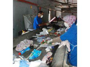 Bir yılda 7 bin ton kağıt, cam, metal ve 55 bin litre atık yağ toplandı