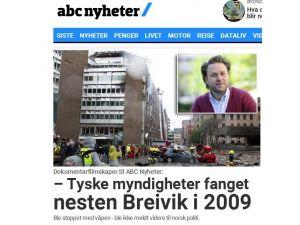 Alman polisi Breivik'i mühimmatla yakalamış
