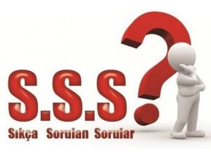 Sıkça Sorulan Sorular Yayınlandı