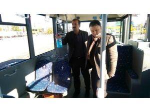 Belediye Otobüslerinde Kış Temizliği