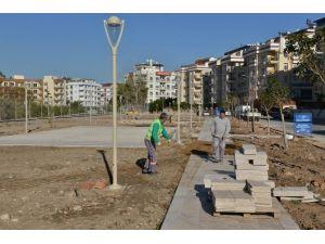 Konyaaltı Belediyesi'nden Hurma'ya Yeni Park