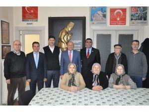 Çakırözer'den Türkiye Harp Malülü Gaziler, Şehit, Dul Ve Yetimleri Derneği Eskişehir Şubesi'ne Ziyaret