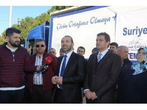 Ünye'den Türkmenlere Yardım Eli