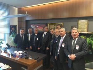 Alaplı Ziraat Odası, Milletvekili Çaturoğlu'nu Ziyaret Etti