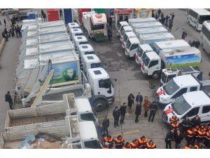Kdz. Ereğli Belediyesi Hizmete Giren Yeni Araçlarını Tanıttı