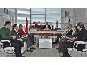 BİK Ve Yerel Gazetelerden Elazığ TSO Başkanı Alan'a Ziyaret