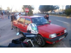 Karbüratör Hortumu Çıkınca Otomobili Yanıyor Sandılar