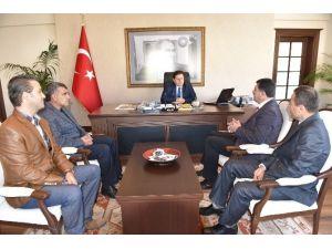 Türkiye Muhtarlar Konfederasyon Başkanı Bodrum'da