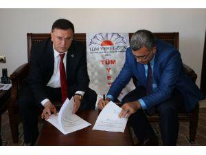 Hatay Büyükşehir Belediyesi'nde sosyal denge sözleşmesi imzalandı