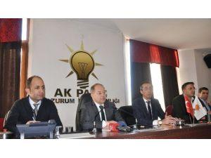 AK Parti Genel Başkan Yardımcısı Recep Akdağ'dan 'Terör' Ve 'Bildiri' Açıklaması
