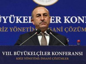 Dışişleri Bakanı Çavuşoğlu: Yanıbaşımızda DAEŞ ile yaşamak istemiyoruz