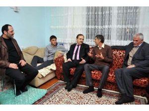 Başkan Şahin'den Yaralı Polise Ziyaret