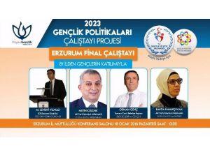 Başkan Genç, Erzurum'da 2023'ü Anlatacak