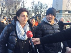 Gurbetçi vatandaşlar patlamada hayatını kaybedenleri andı