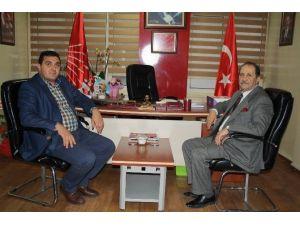 SESOB Başkanı Köksal'dan, CHP İl Teşkilatına Ziyaret