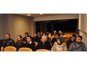 Afyonkarahisar'da Eczacı-gözlükçü Ve Optisyenlere Yönelik Bilgilendirme Toplantısı Yapıldı
