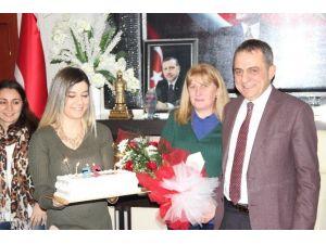 Başkan Sağıroğlu'na Sürpriz Doğum Günü