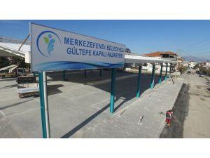Gültepe'ye kapalı pazaryeri yapılıyor