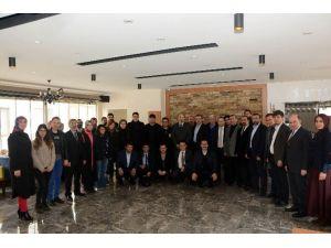 AK Parti Afyonkarahisar İl Başkanı Yurdunuseven, Gazetecilerle Bir Araya Geldi