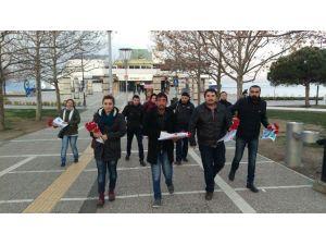 CHP'li Gençler, Nazım'ı Unutmadı