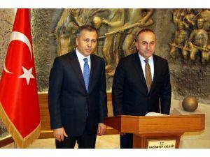 Dışişleri Bakanı Çavuşoğlu'nun Gaziantep Ziyareti
