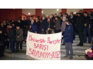 Kocaeli'de Gözaltına Alınan 19 Akademisyen Serbest Bırakıldı