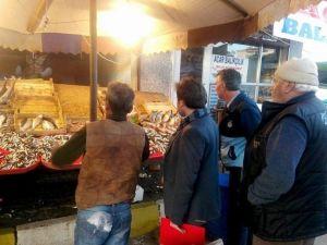 Osmaneli Balık Pazarında Denetim