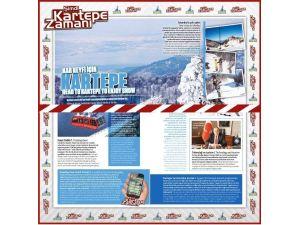 Kartepe Turizmi Hava Yolu Şirketlerinde Tanıtılıyor